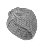 Lulu Turban Hat - Grey Melange