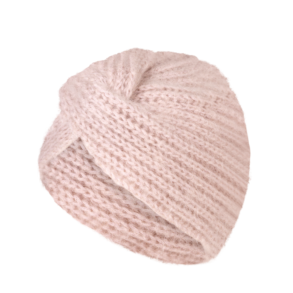 Lulu Turban Hat - Nude Shadow