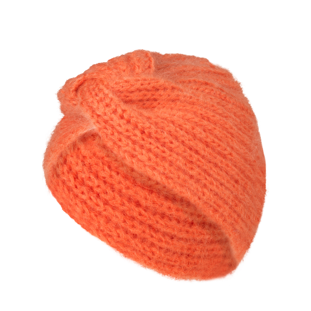 Lulu Turban Hat - Papaya