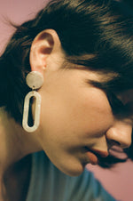 Dia Earrings - Ivory Torte