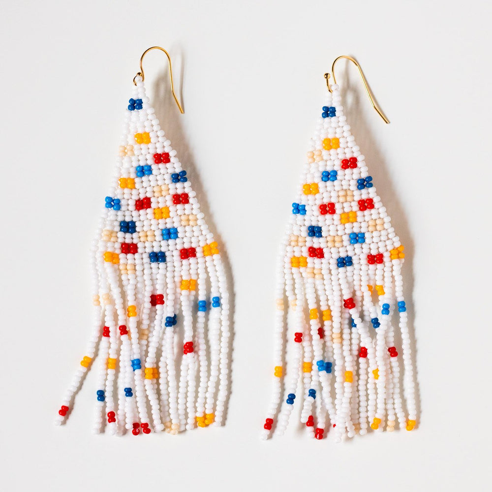 Freesia Beaded Earrings - Prima Pop