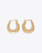 Lennon Hoops - Gold