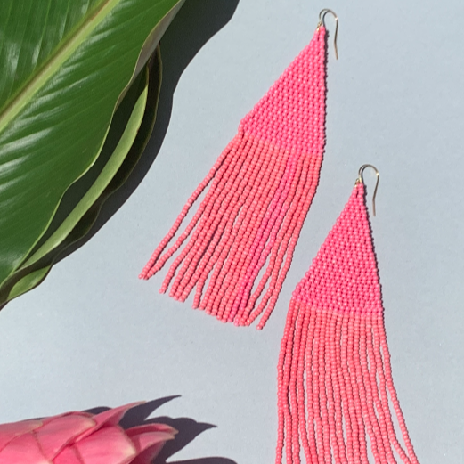 Lily Beaded Earrings - Lokilani