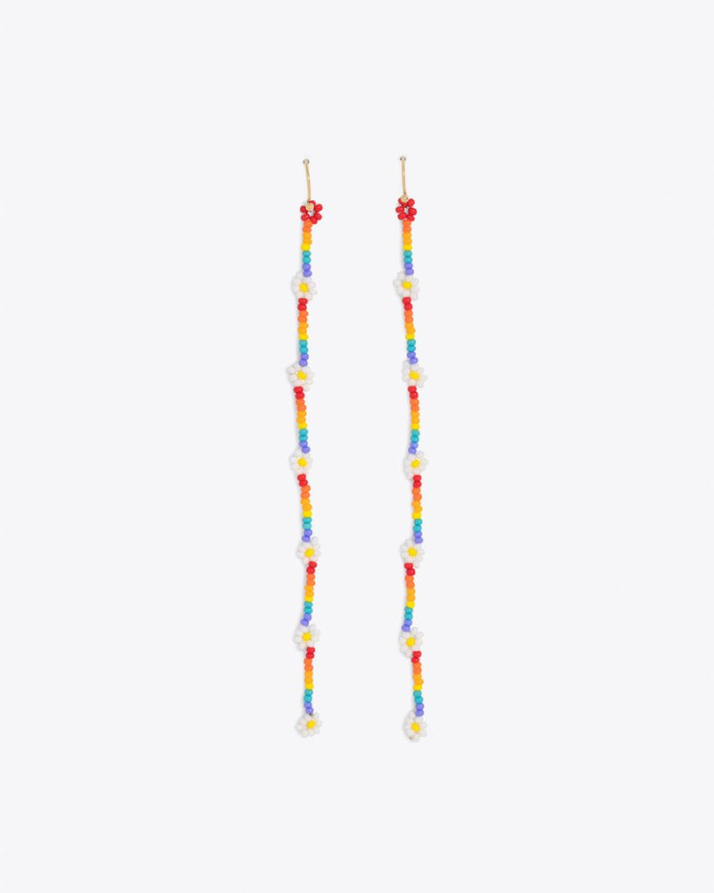 Tallulah Earrings - Rainbow Daisy