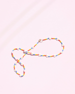 Zara Necklace - Rainbow Daisy