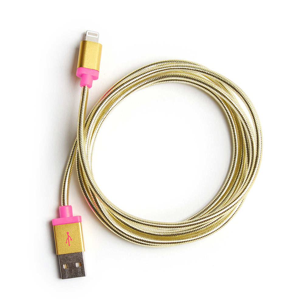 Back Me Up! Mobile Charger - Metallic Gold