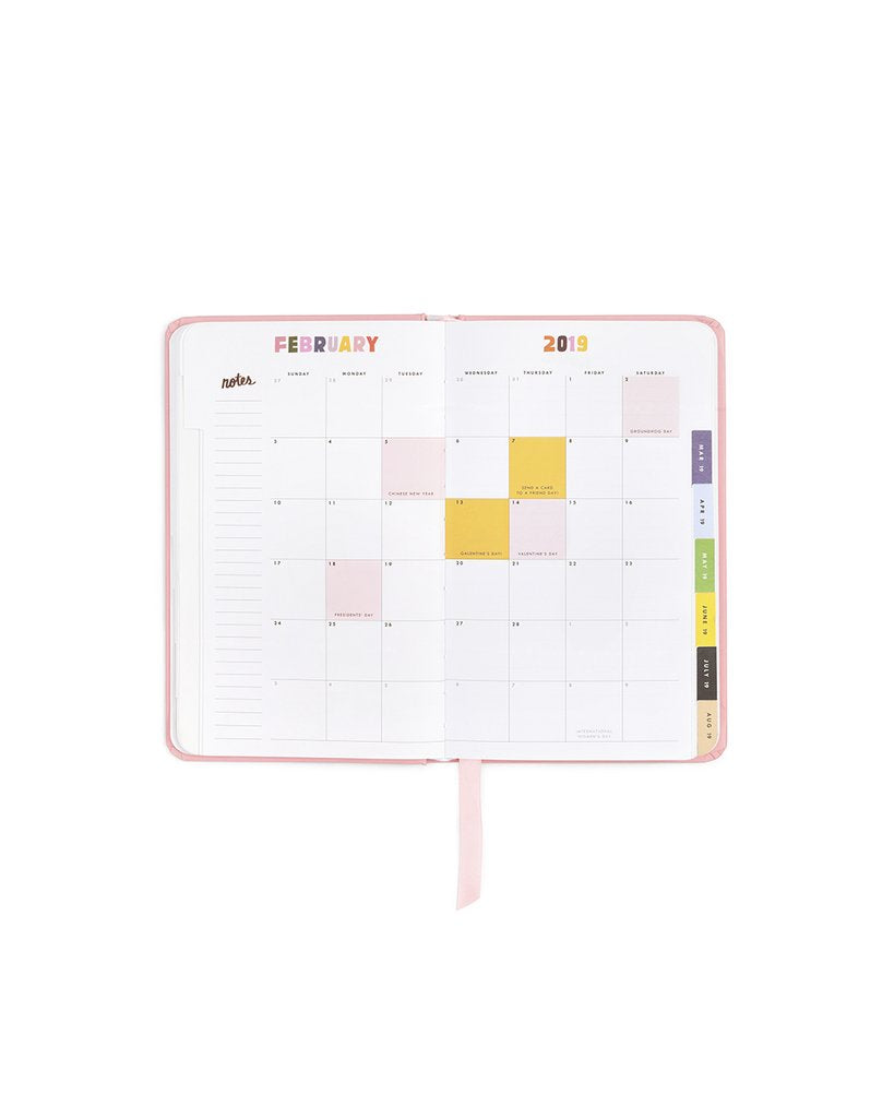 Planner 12-Month Classic [2019 Annual] - Serious Business Woman [EXCLUSIVE]