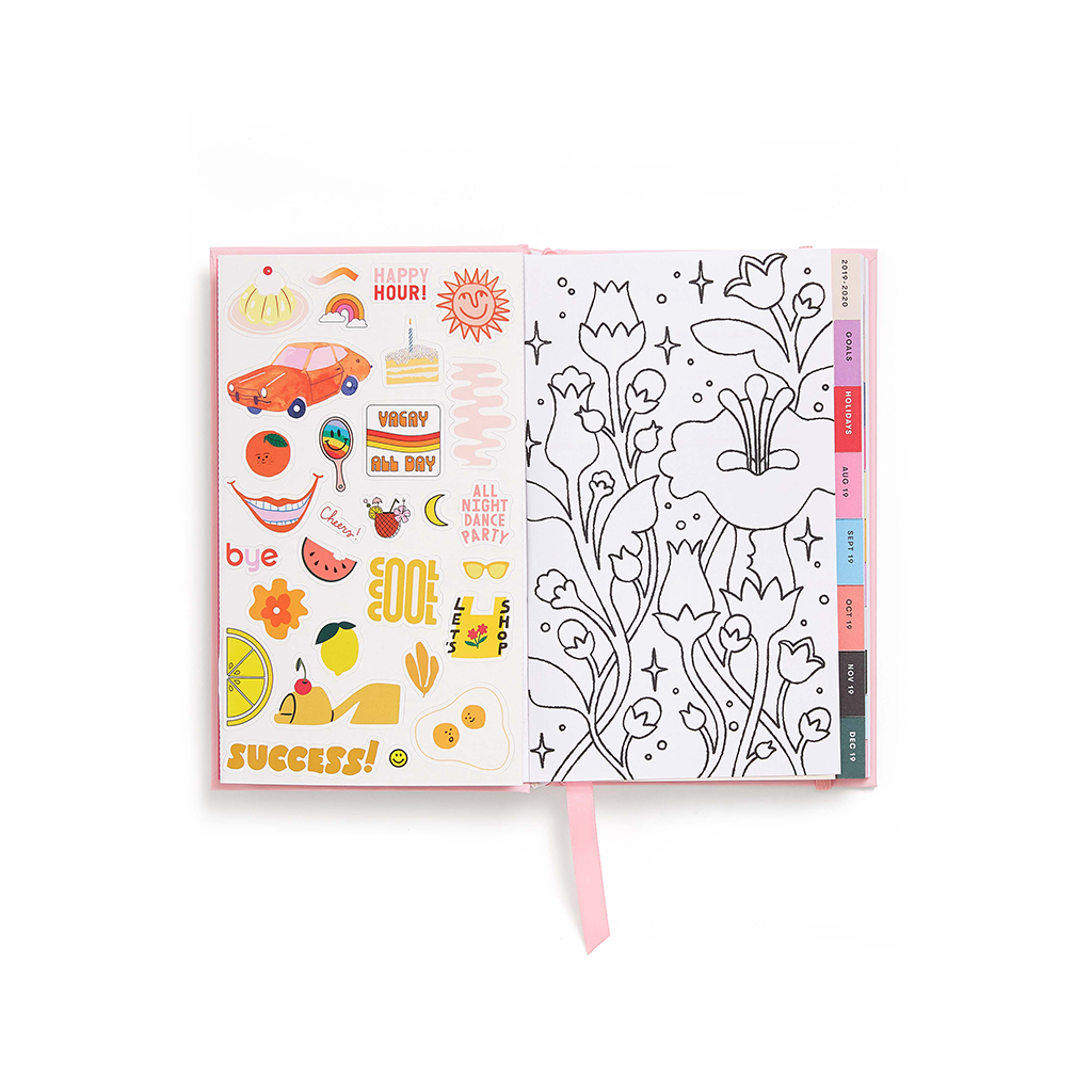 Planner 17-Month Classic [2019/2020] - Coming Up Roses