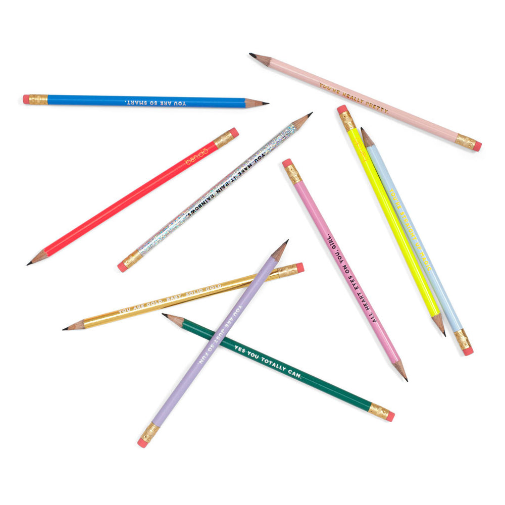 Write On Pencil Set - Compliments