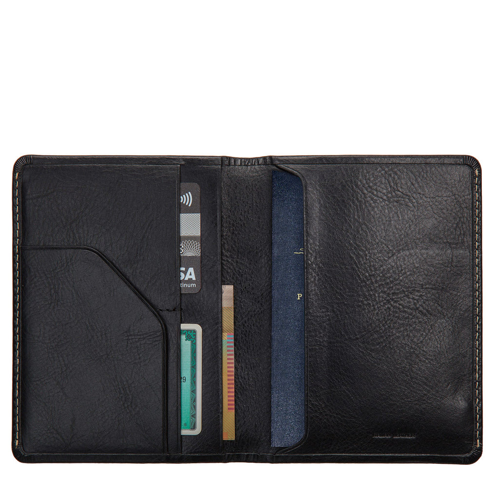 Conquest Passport Holder - Black