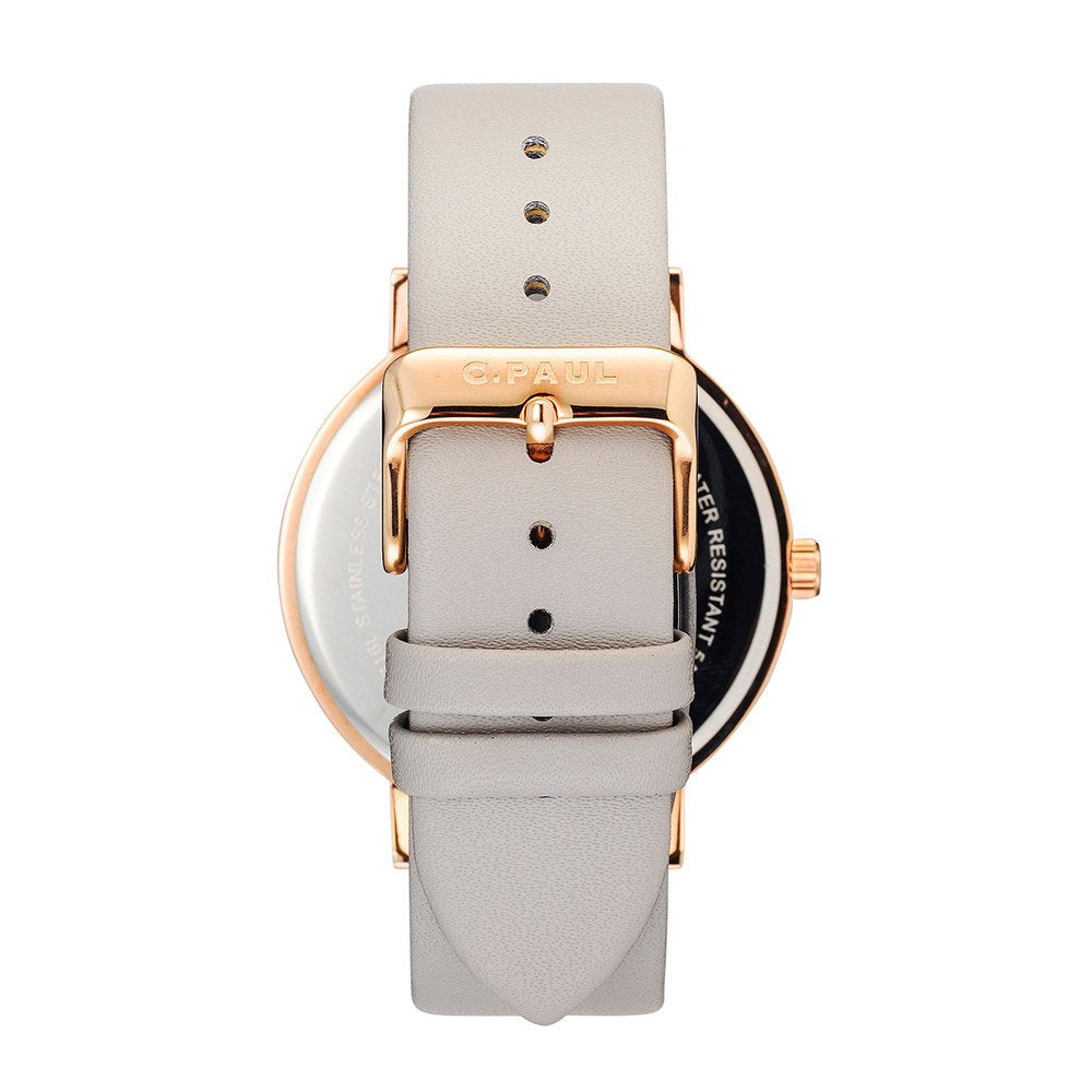 Raw Collection - Rose Gold/Grey 43mm