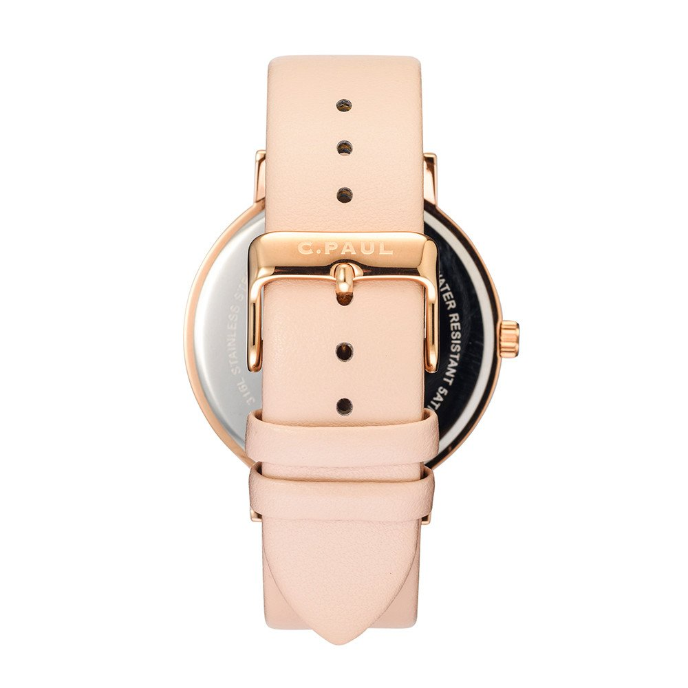 Raw Collection - Rose Gold/Peach 43mm