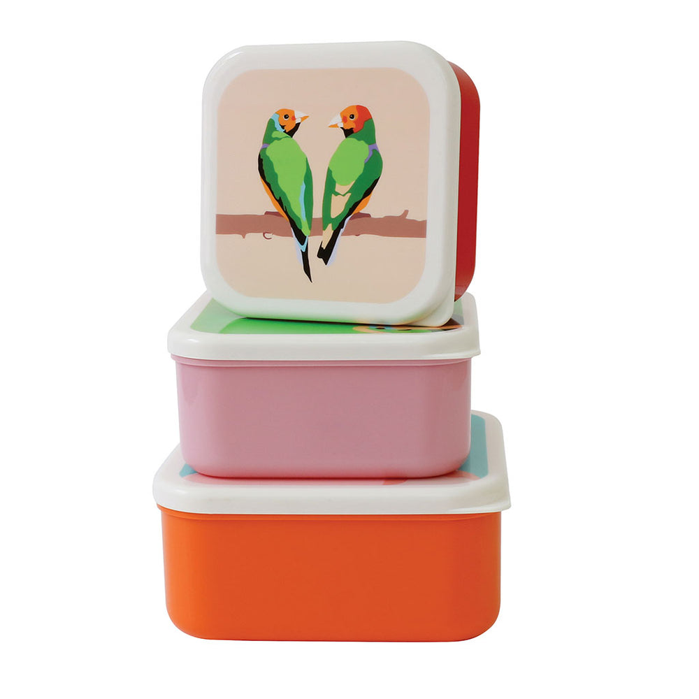 Snack Pots - Set of Three