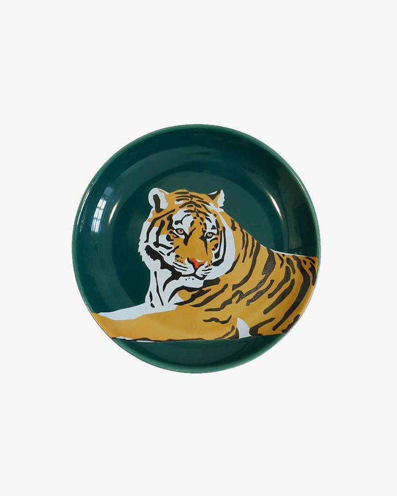 Ceramic Trinket Dish - Tiger