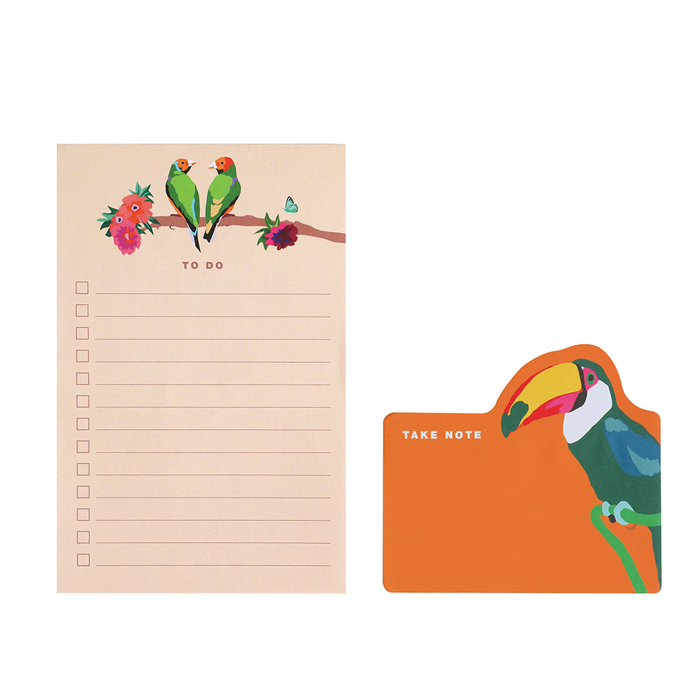 Set of Two Memo Pads - Take Note
