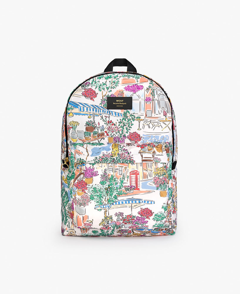 Recycled Backpack - Market