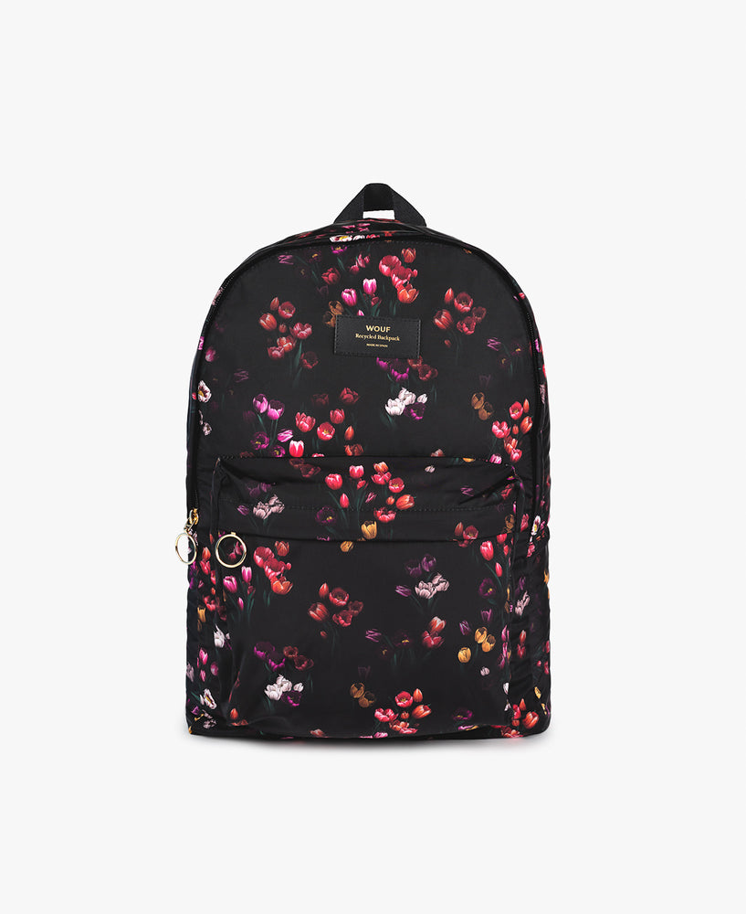 Recycled Backpack - Tulips