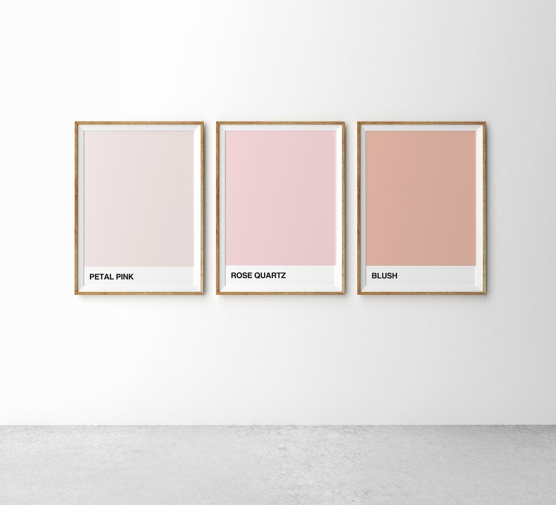 Art Print - The Tones: Petal Pink