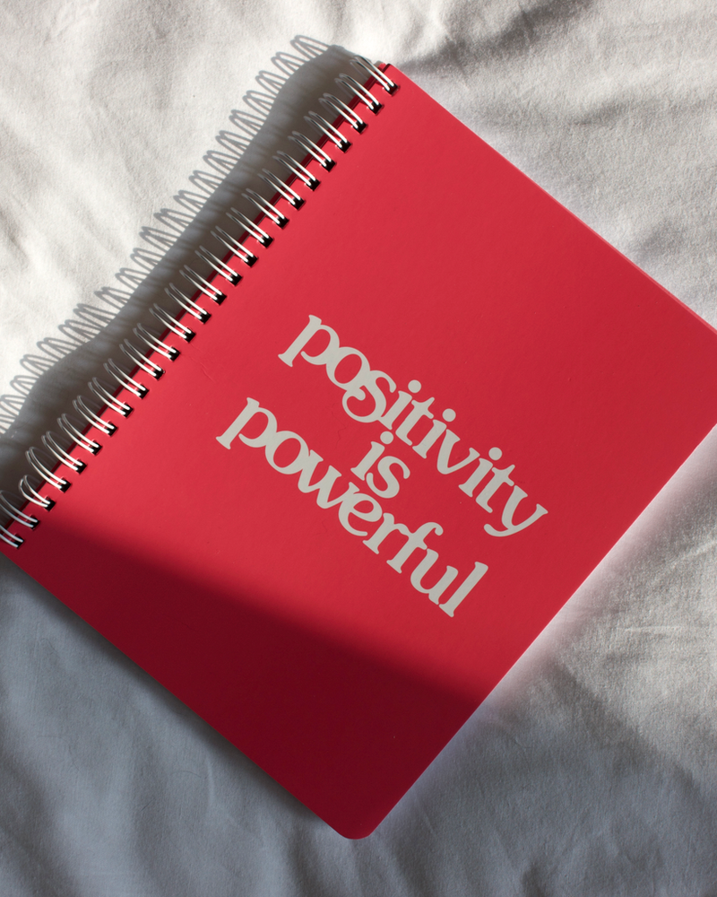 Rough Draft Mini Notebook - Positivity Is Powerful