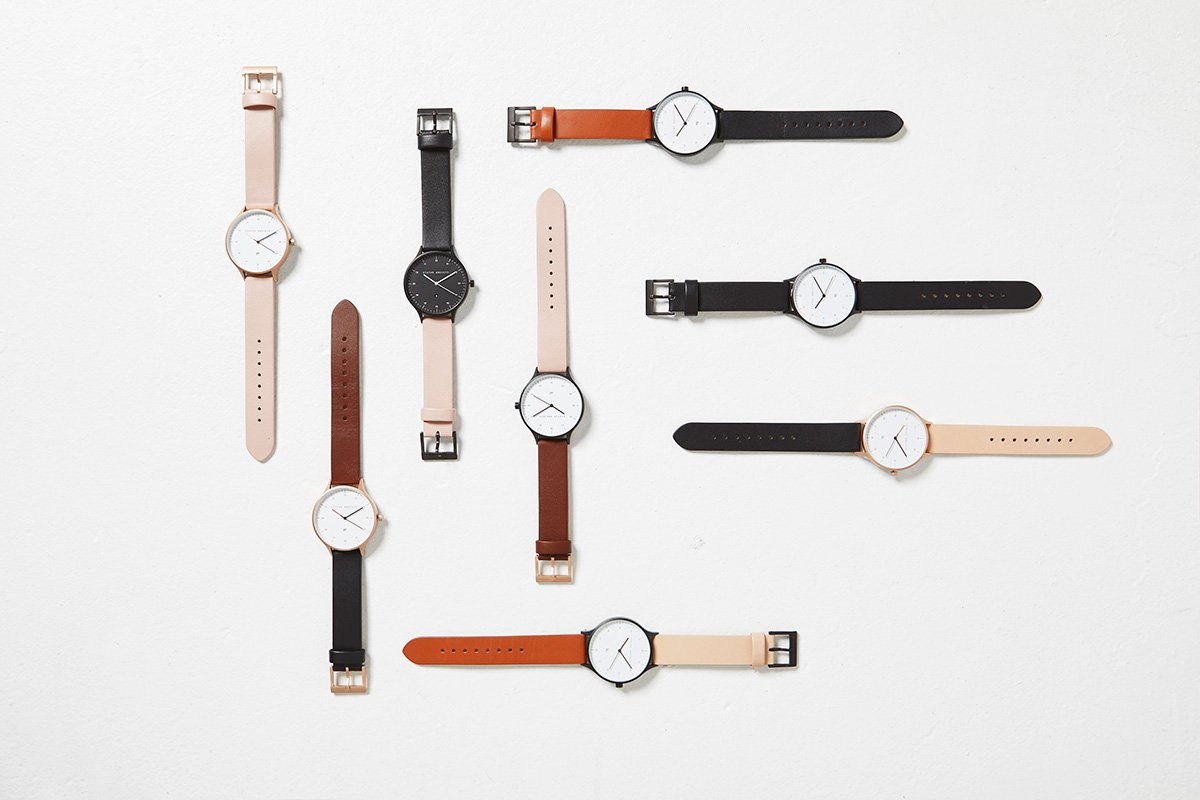 Inertia - Copper / White Face / Blush Strap