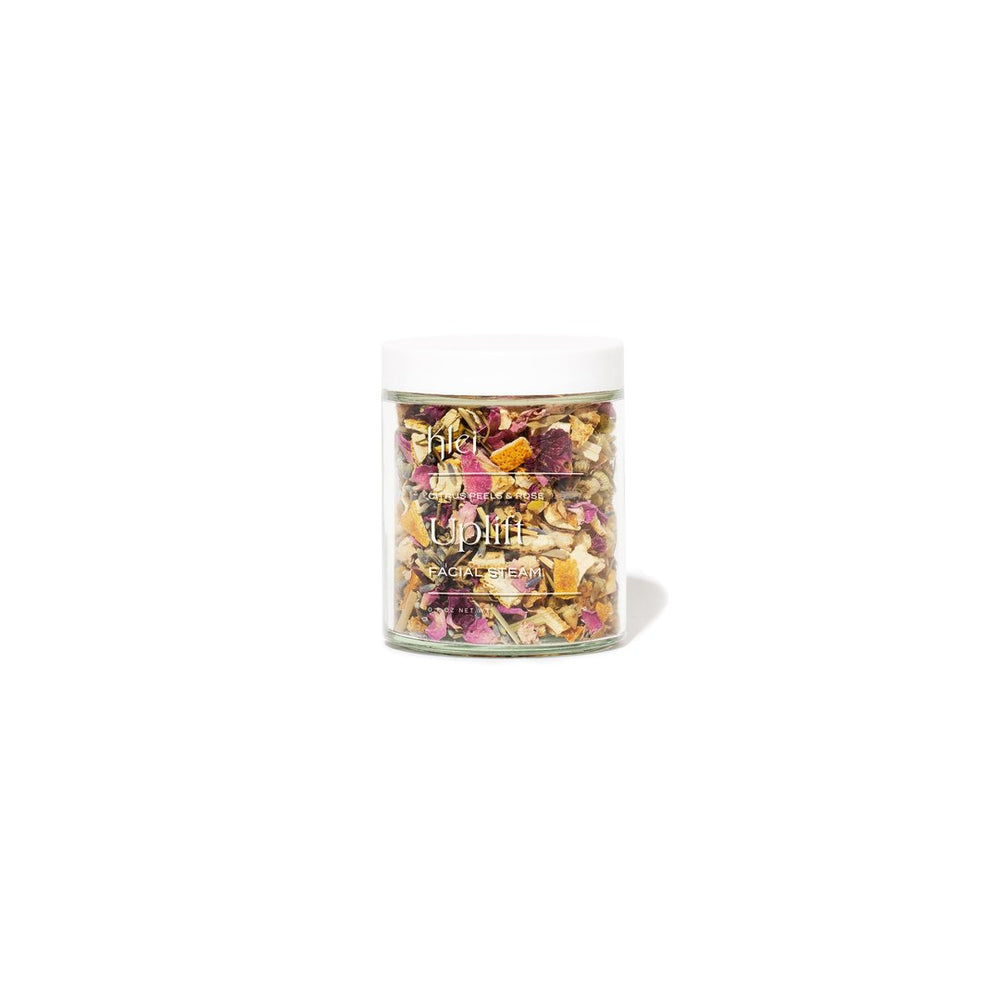 Uplift Floral Facial Steam - Citrus Peels & Rose