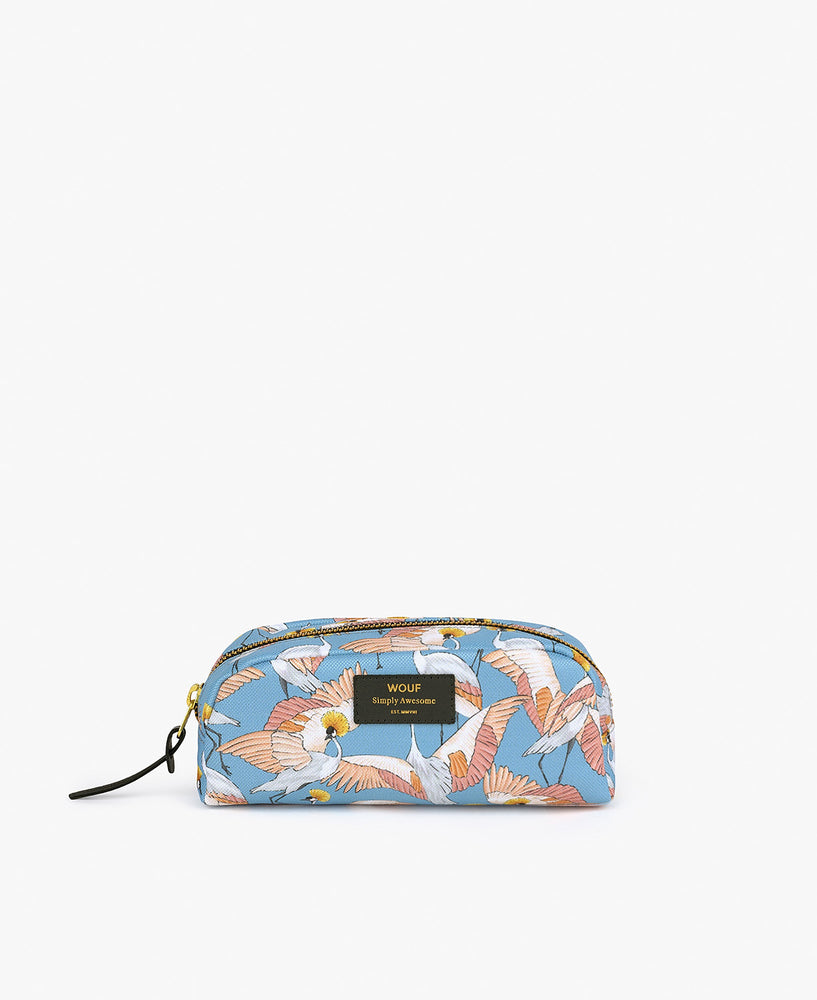 Small Make-Up Pouch - Imperial Heron