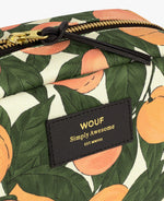 Large Make-Up Pouch - Peach