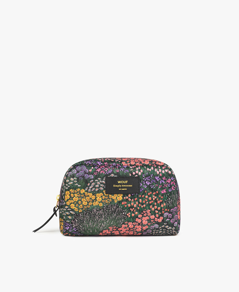 Large Make-Up Pouch - Meadow
