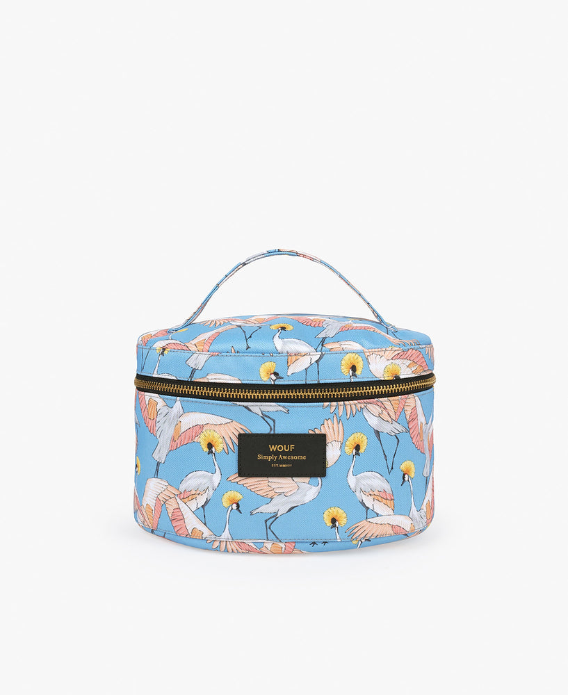 Make-Up Bag - Imperial Heron
