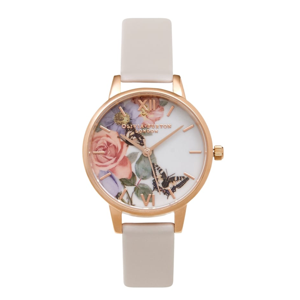 Enchanted Garden - Midi Blush & Rose Gold