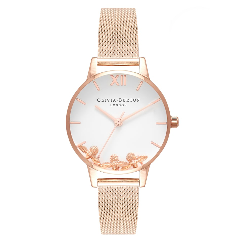 Busy Bee - Rose Gold Mesh