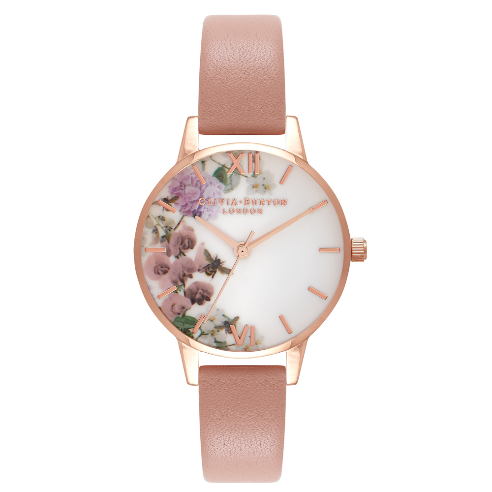Enchanted Garden - Dusty Pink & Rose Gold