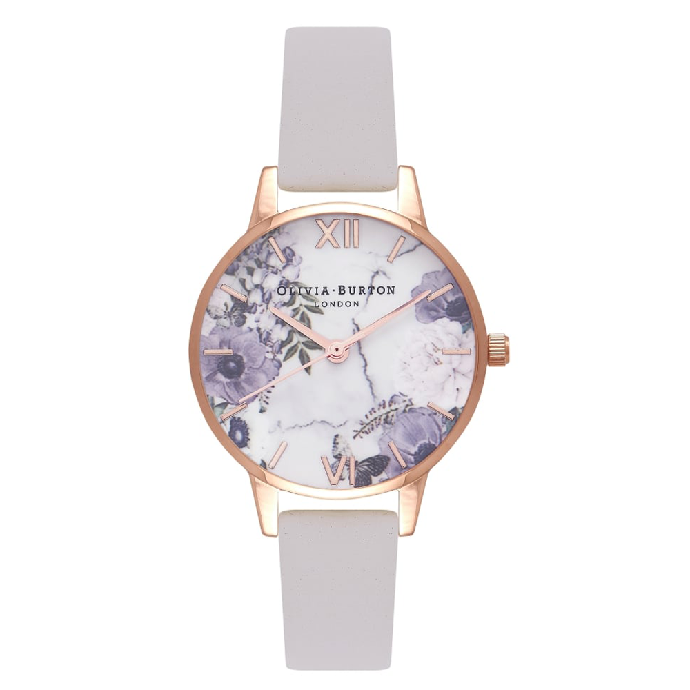 Marble Floral - Blush & Rose Gold