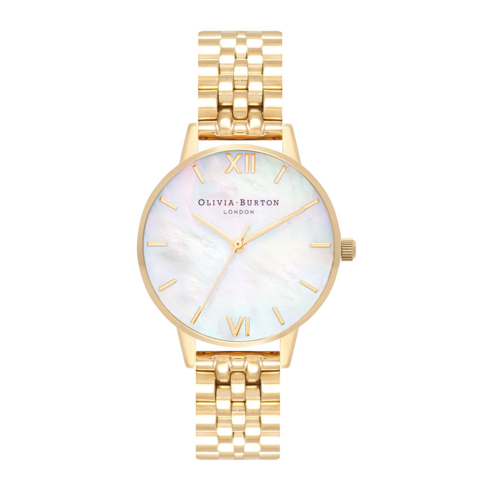 Mother Of Pearl Bracelet - Gold