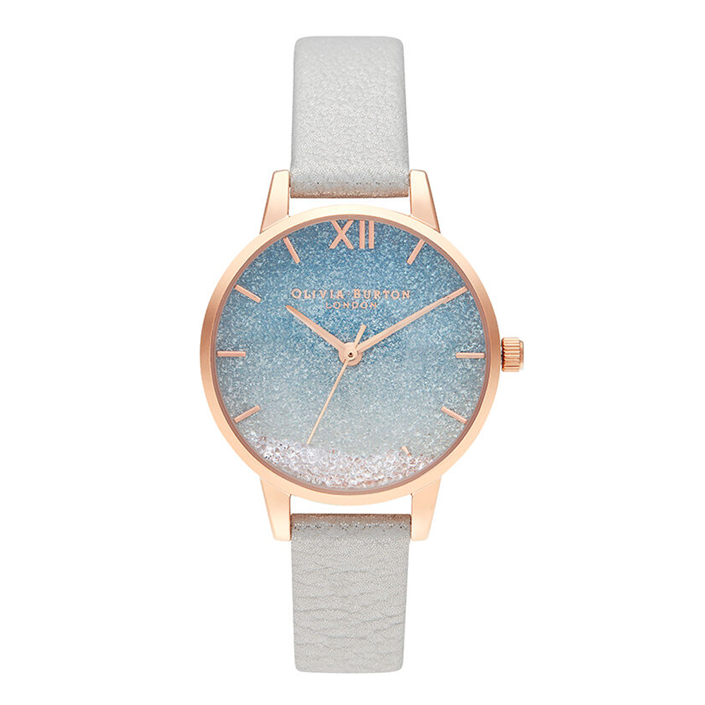 Wishing Wave Glitter Dial - Shimmer Pearl & Rose Gold