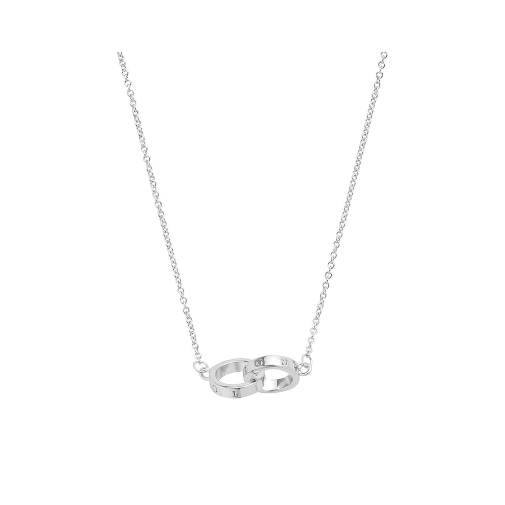 Interlink Necklace - Silver