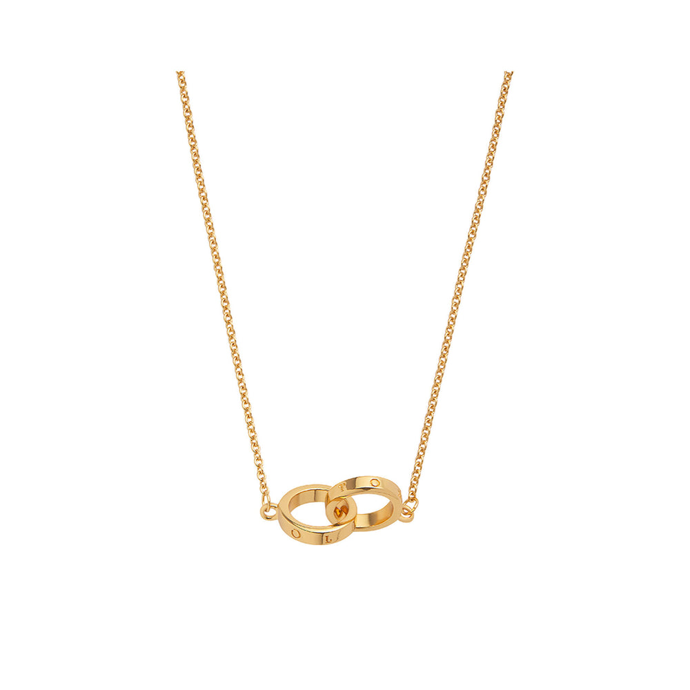 Interlink Necklace - Gold