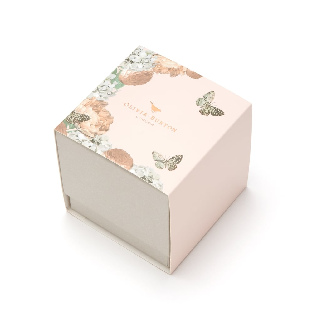 Midi Signature Floral London - Grey & Rose Gold