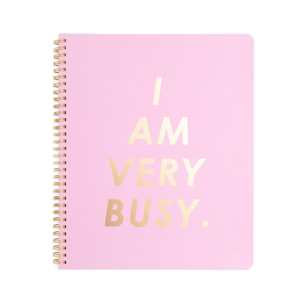 Rough Draft Large Notebook - I Am Very Busy