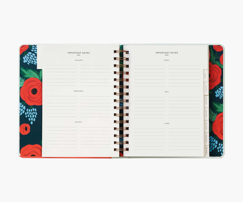 17-Month Planner 2021 - Type A