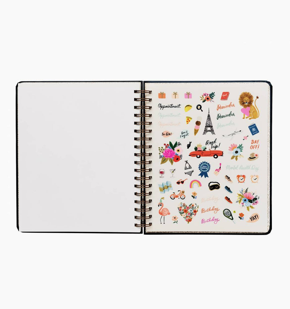 Everyday 17-Month Planner 2020 - Wild Rose Spiral