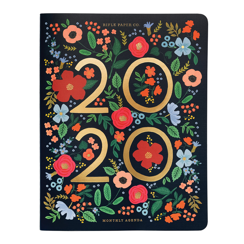 Stitched Appointment Notebook 2020 - Wild Rose