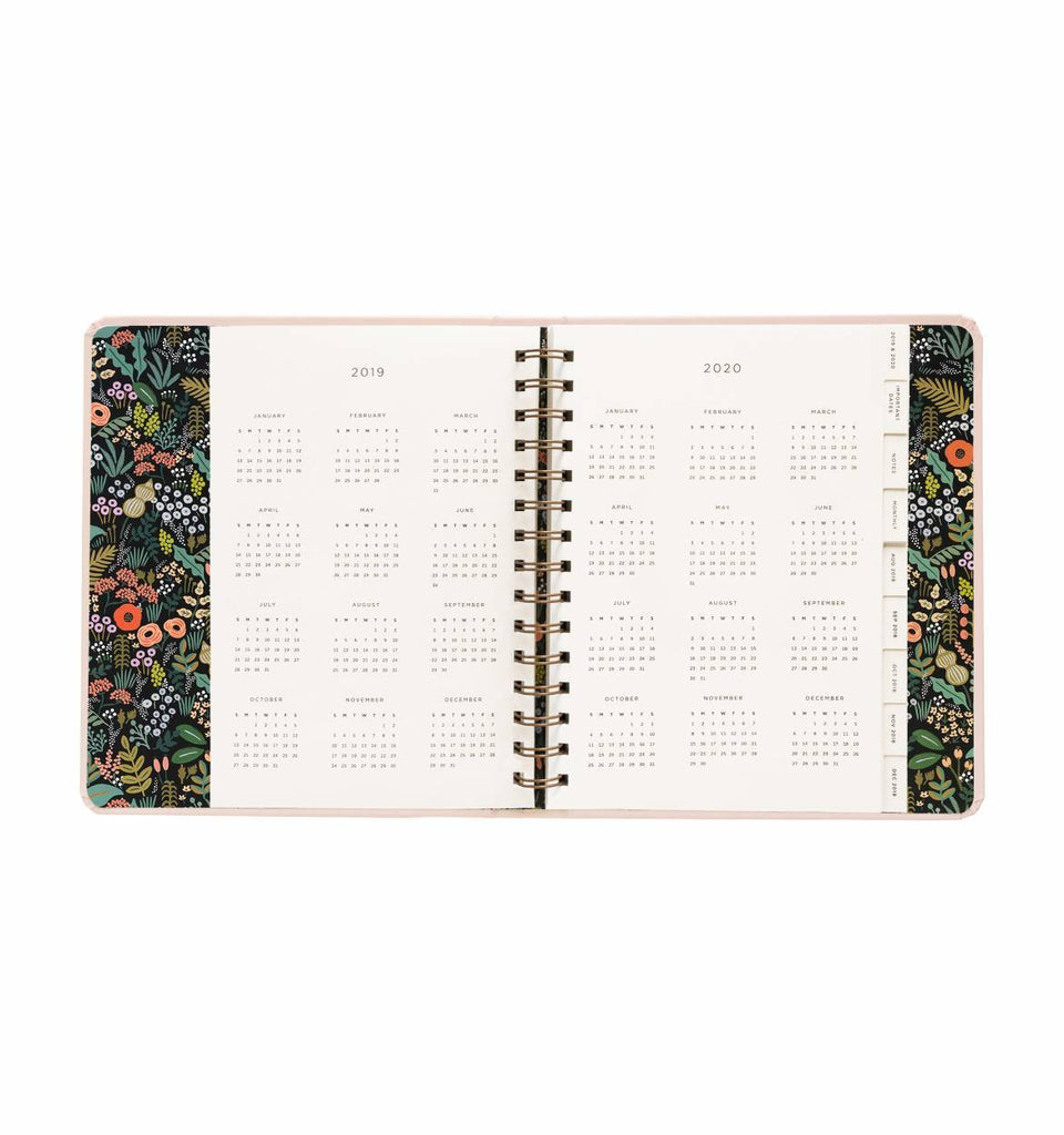 Everyday 17-Month Planner 2019 - Bouquet