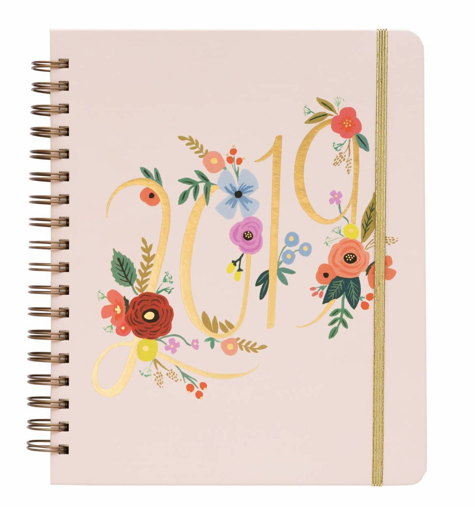Everyday 17-Month Planner 2019 - Bouquet Spiral