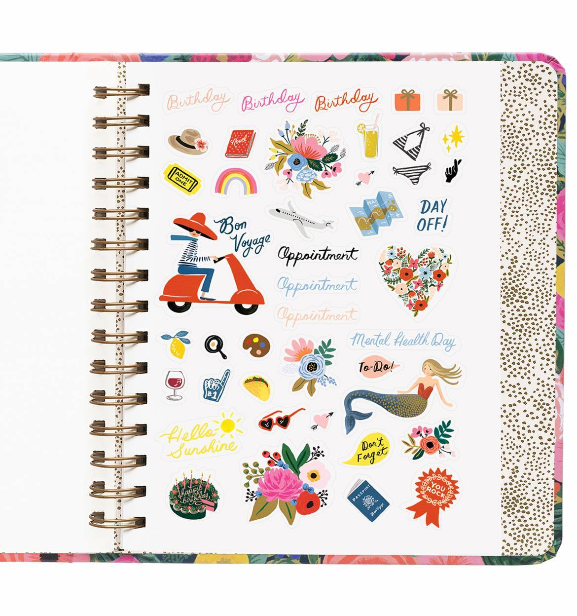 Everyday 17-Month Planner 2019 - Juliet Rose