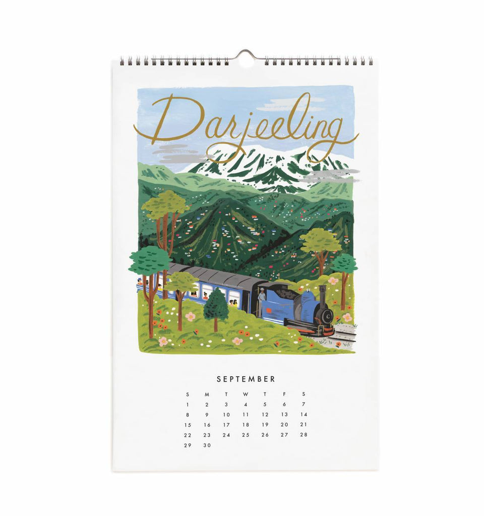 313b5394280f Wall Calendar 2019 - World Traveler