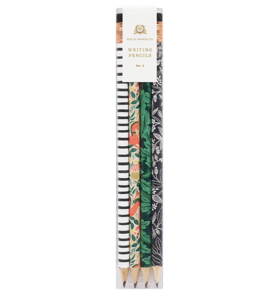 Everyday Assorted Writing Pencils - Folk