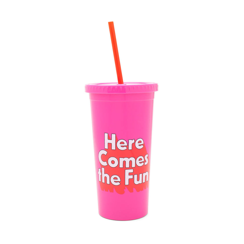 Sip Sip Tumbler - Here Comes The Fun