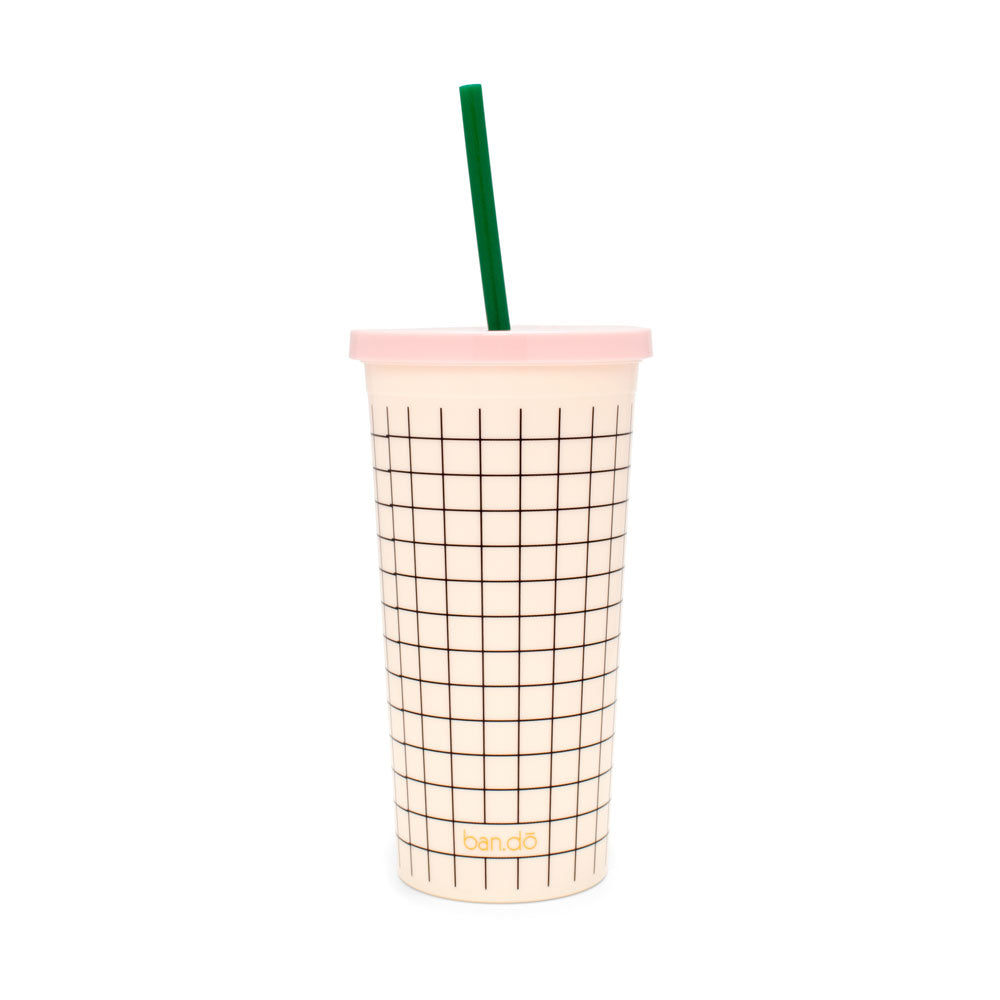 Sip Sip Tumbler - Mini Grid