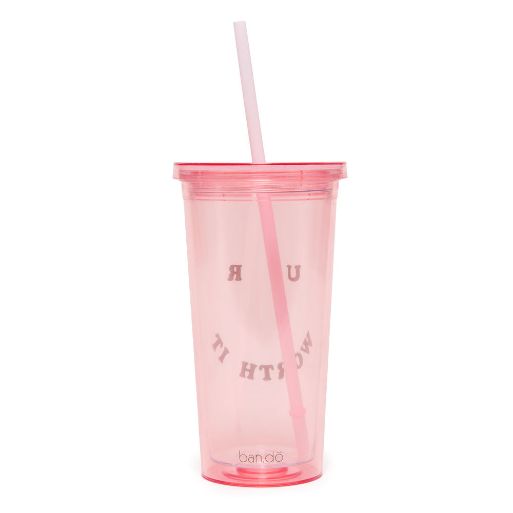 Sip Sip Tumbler - U R Worth It